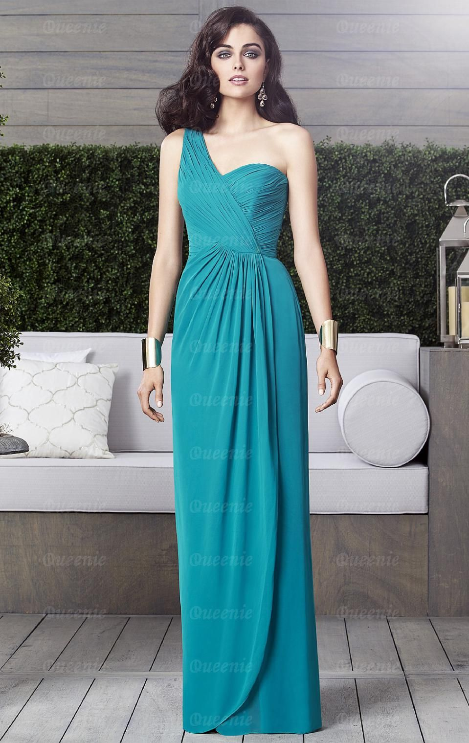 Beautiful Green Bridesmaid Dress BNNBE0017   Vestidos   Pinterest ...