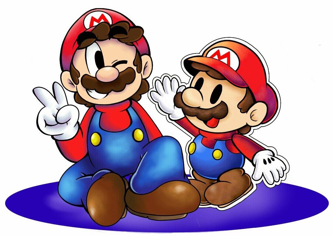 Mario And Paper Mario Nintendo Pinterest Paper Mario