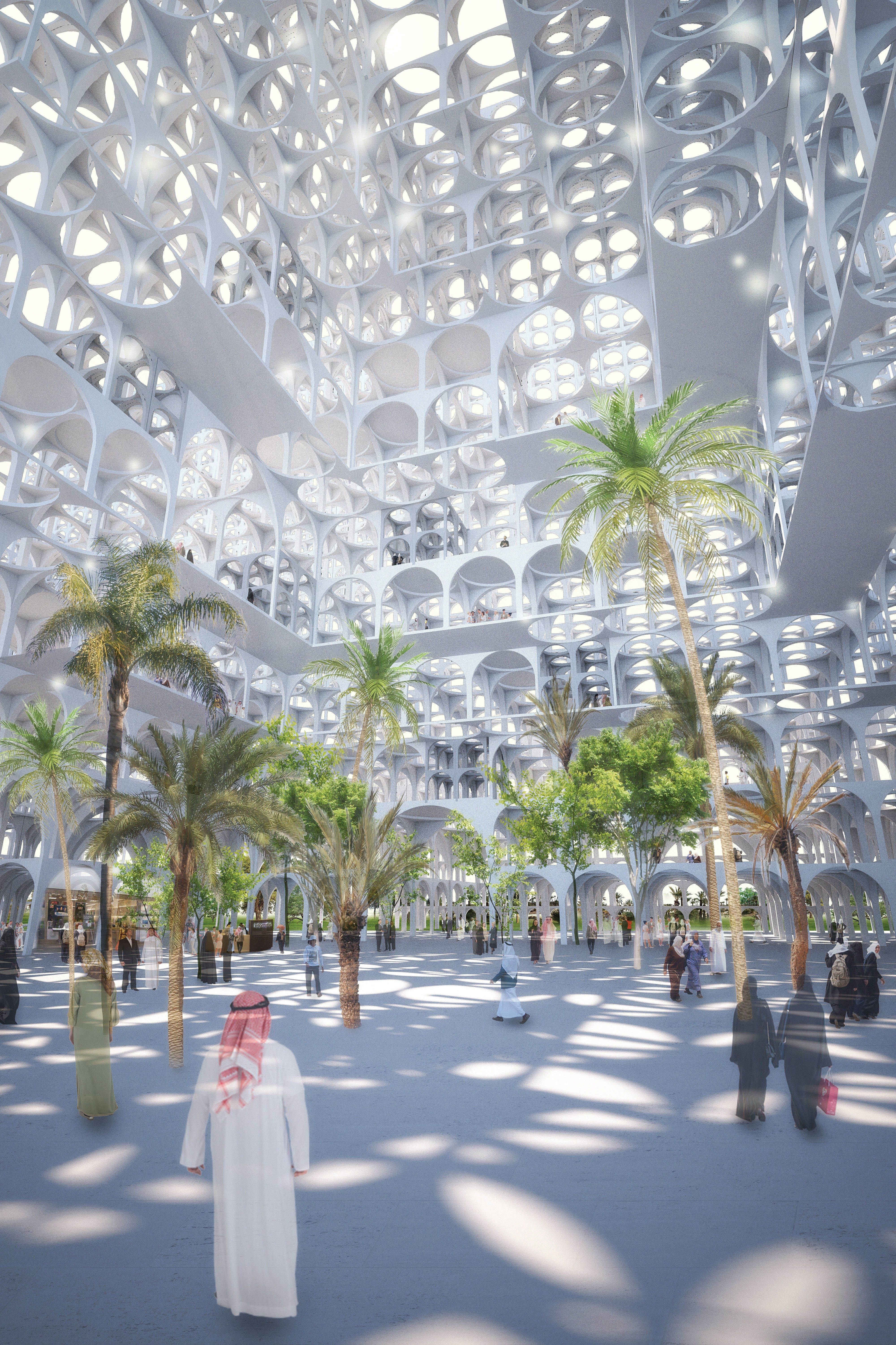 "Gallery of Sou Fujimoto Proposes ""Mirage Like"" Landmark for Middle East 5"