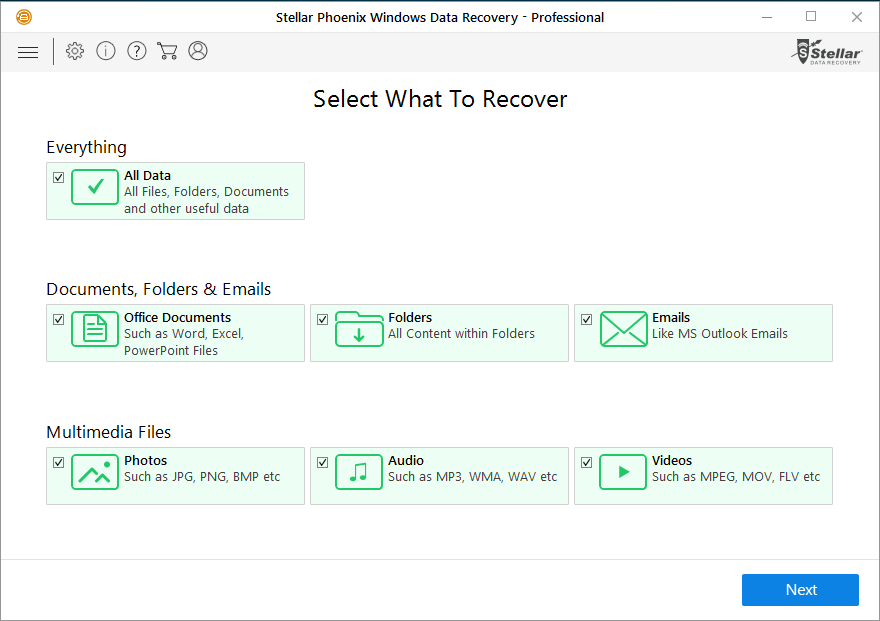 Stellar Data Recovery Professional Software For Windows Review