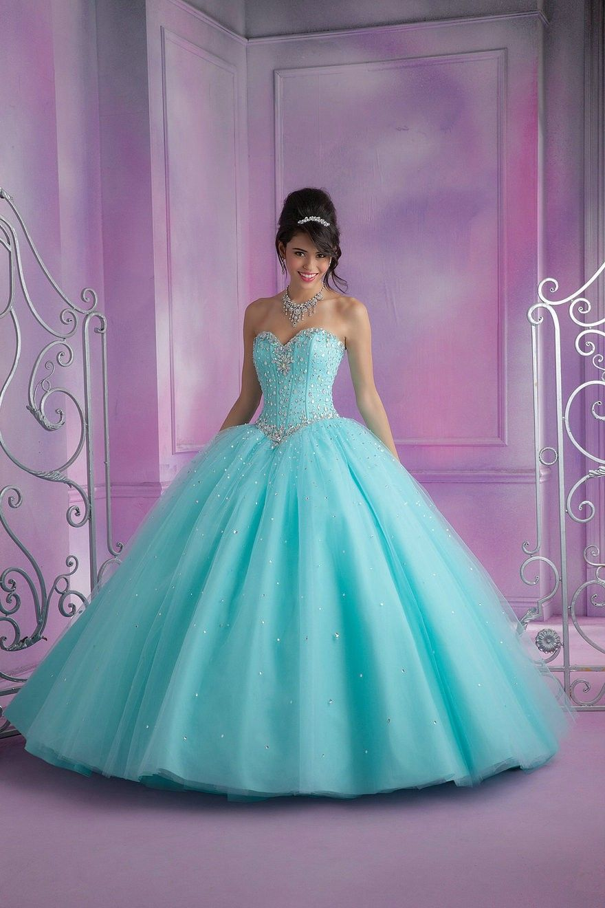 Free Shipping New 2015 Quinceanera Dress Gowns Wonderful Beaded Open ...