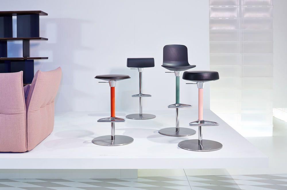 Vitra at salone internazionale del mobile zeb stool by edward