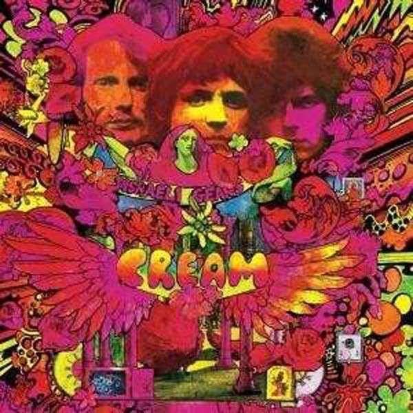 """No os preocupeis, no estoy """"amariguanado"""" que diría algún amigo mejicano. Esto es simplemente un homenaje al Arte Psicodélico. Martín Sharp, para el disco """"Disraeli Gears""""(1967) de Cream."""