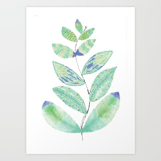 Nature and ocean-inspired art. <br/> <br/> Perfect for someone who loves to be brightened up by beauty and colors!