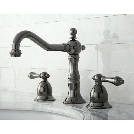 Best Shop Kingston Brass Nb1970Al Water Onyx Black Nickel 400 x 300