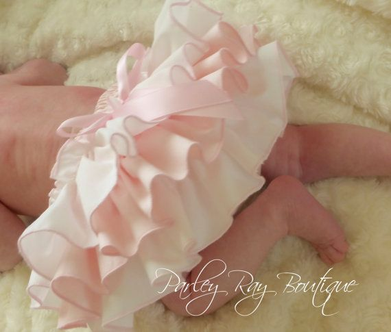 Una bella Parley Ray Boutique personalizzato rosa & bianco