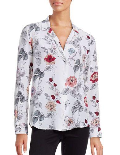 6f5b9d61c028f EQUIPMENT Equipment Adalyn Floral Silk Blouse.  equipment  cloth