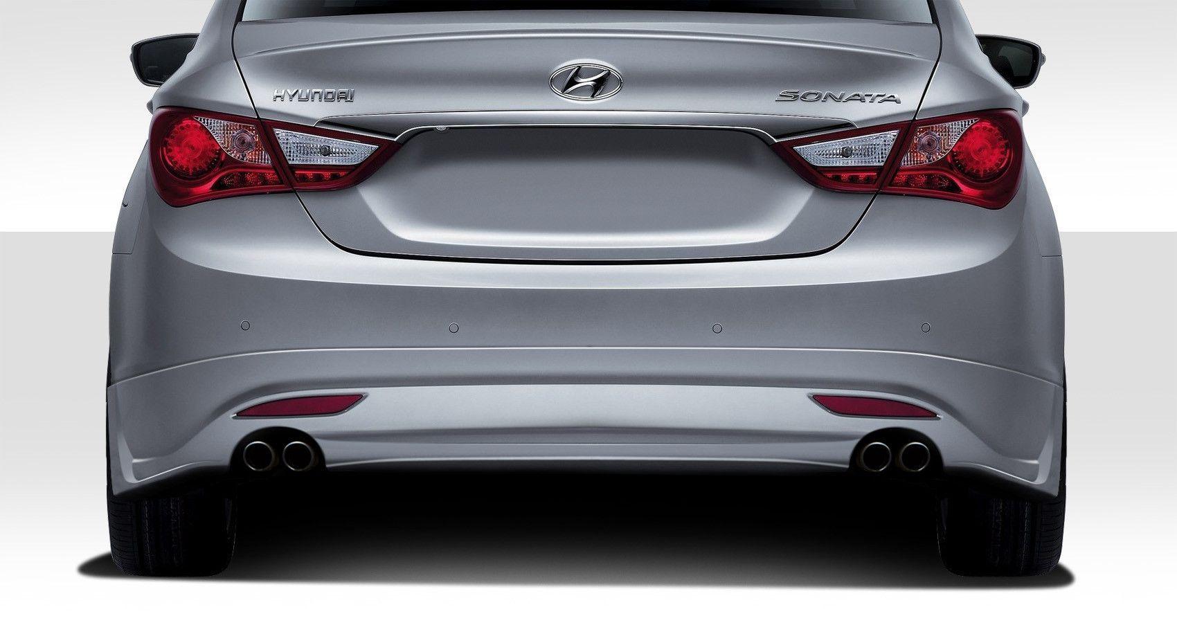 2011-2013 Hyundai Sonata Duraflex Racer Rear Lip Under Air Dam Spoiler - 1 Piece