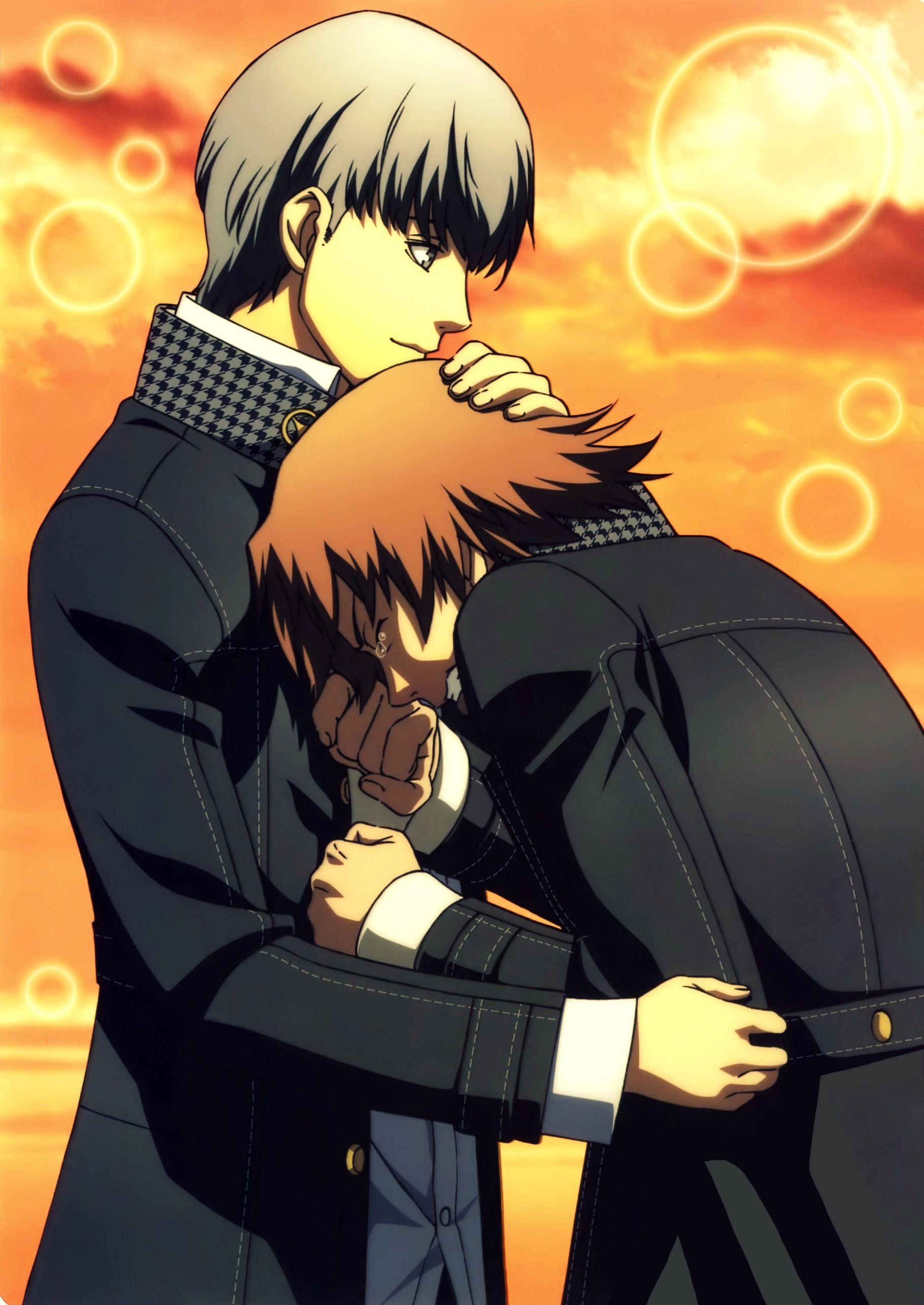 Saddest moment Yu and Yosuke | Persona 4, Persona, Anime