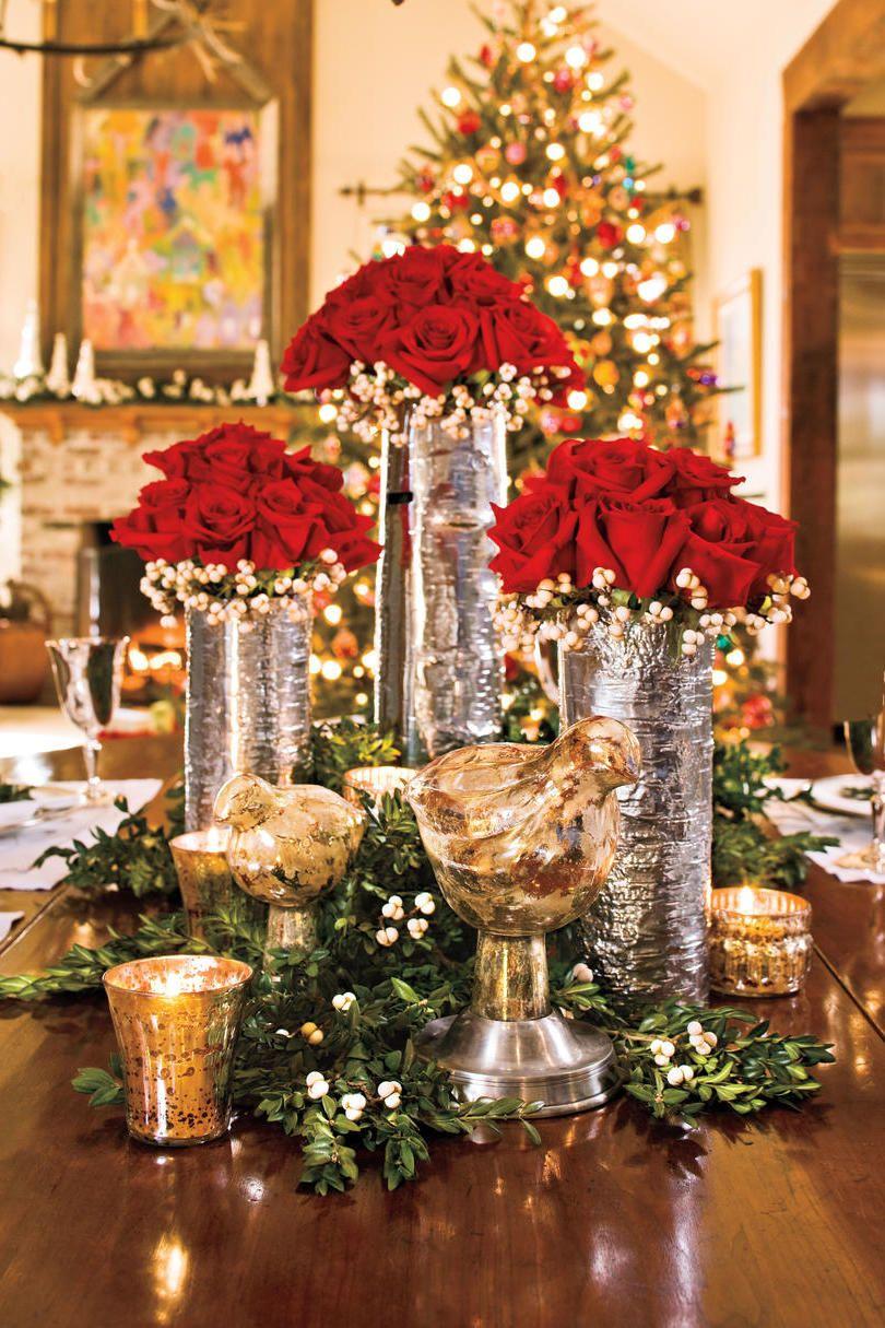 Die 30 Besten Pinterest Weihnachtsdeko Ideen In 2018 Neue Und Trend Konferencen Org Christmas Table Decorations Elegant Christmas Centerpieces Christmas Centerpieces