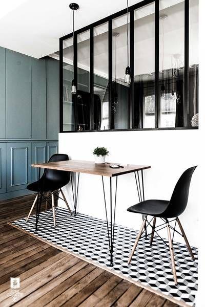 Rénovation d\u0027appartement - Paris XIème French Home Decor - mur porteur en brique