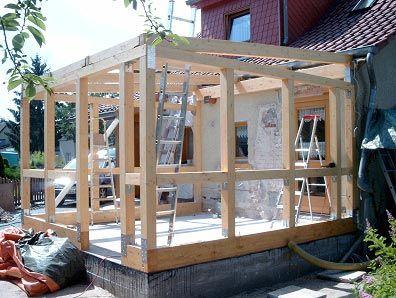 holzanbau anbau pinterest haus patios and house. Black Bedroom Furniture Sets. Home Design Ideas