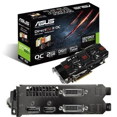 ASUS GTX 660 Ti Series Graphics Card Overclocked Edition Graphics Cards GTX660 TI-DC2O-2GD5 by Asus. $309.99. Introducing the new GTX660Ti-DC2O-2GD5. With DIGI+ VRM, Super Alloy Power, and GPU Tweak, that extra boost in performance update can now be attainable. Feel the power and durability of ASUS design which delivers an enhanced video rendering experience.