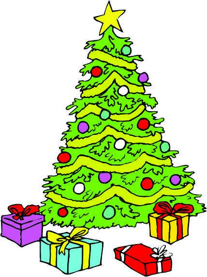 Cartoon Christmas Trees Clipart Best Cartoon Christmas Tree Christmas Tree Clipart Christmas Cartoons