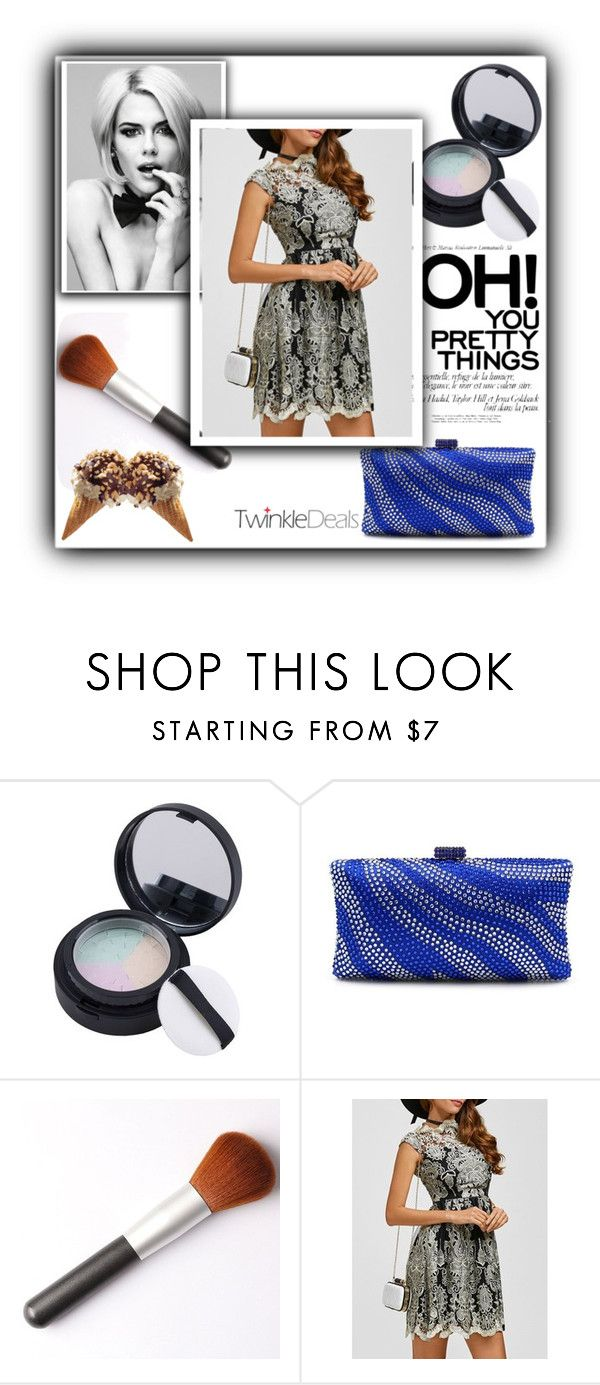 """""""pretty things"""" by fatimka-becirovic ❤ liked on Polyvore featuring dress and twinkledeals"""