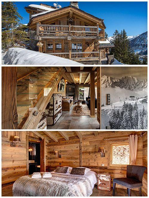 le collectionist d voile ses chalets louer pour le ski. Black Bedroom Furniture Sets. Home Design Ideas