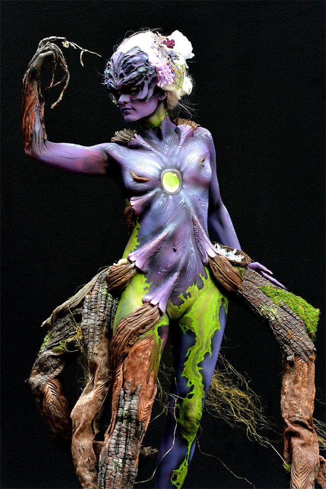 Phantasmagoric Body Art From This Year S World Bodypainting Festival Body Art Painting Body Painting World Bodypainting Festival