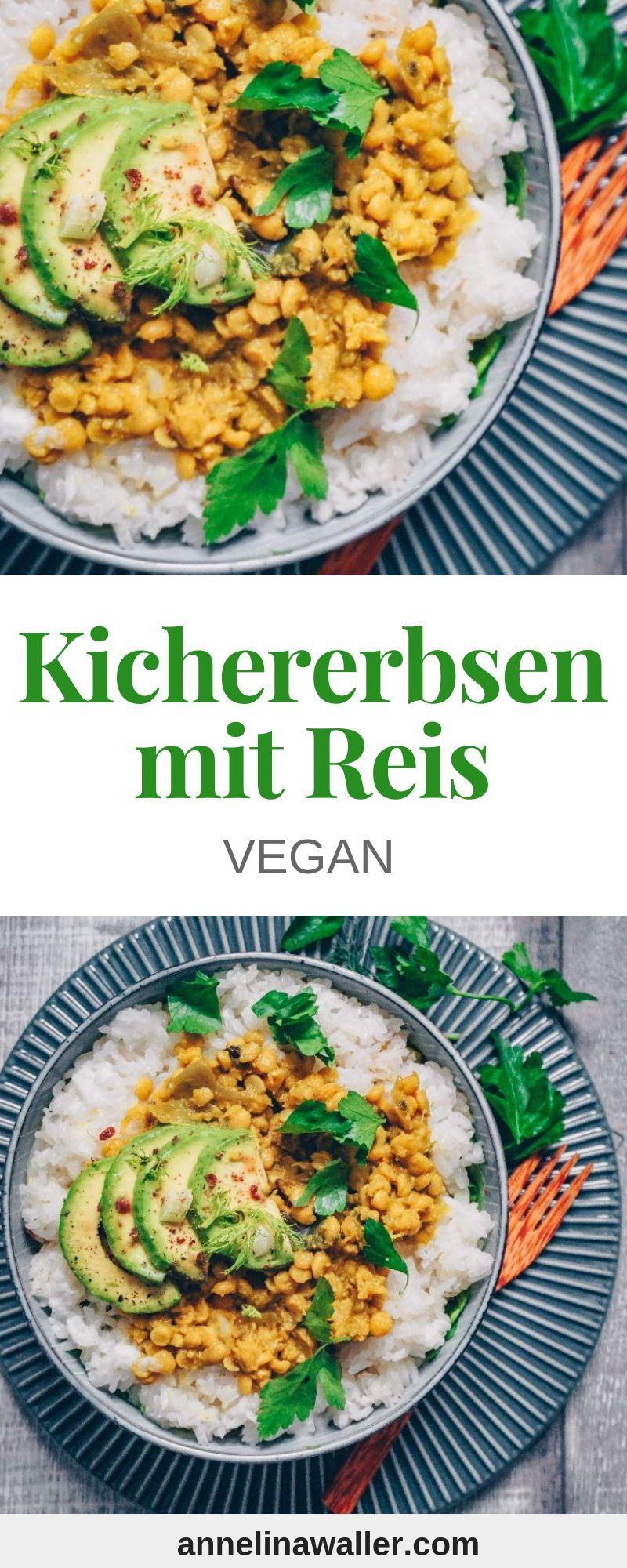Chana Kichererbsen Dal mit Klebreis | Annelina Waller