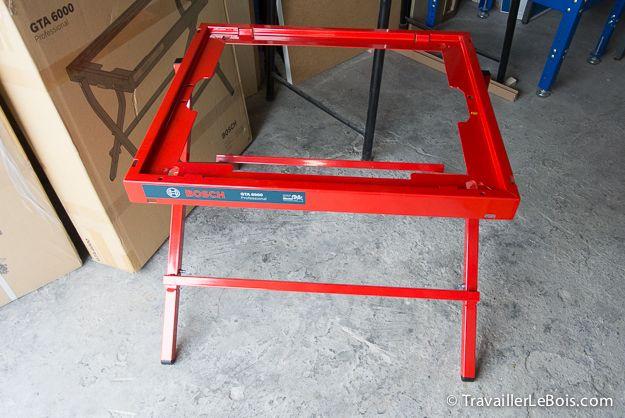 La Scie Sur Table Bosch Gts 10 Xc 1ere Partie Montage Table Rallonge Table Defonceuse