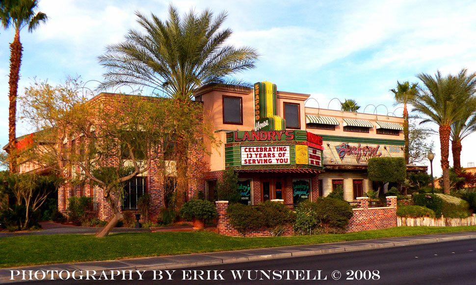 Landry S Seafood Restaurant On West Sahara Ave Las Vegas