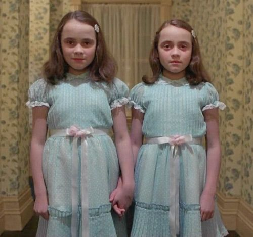 Creepy Twins from The Shining perfect for my girls