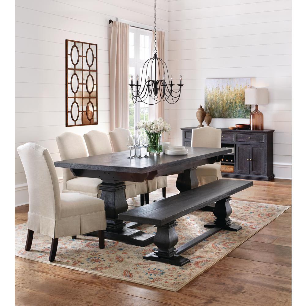 Home Decorators Collection Aldridge 3 Drawer Sideboard Cabinet Nb