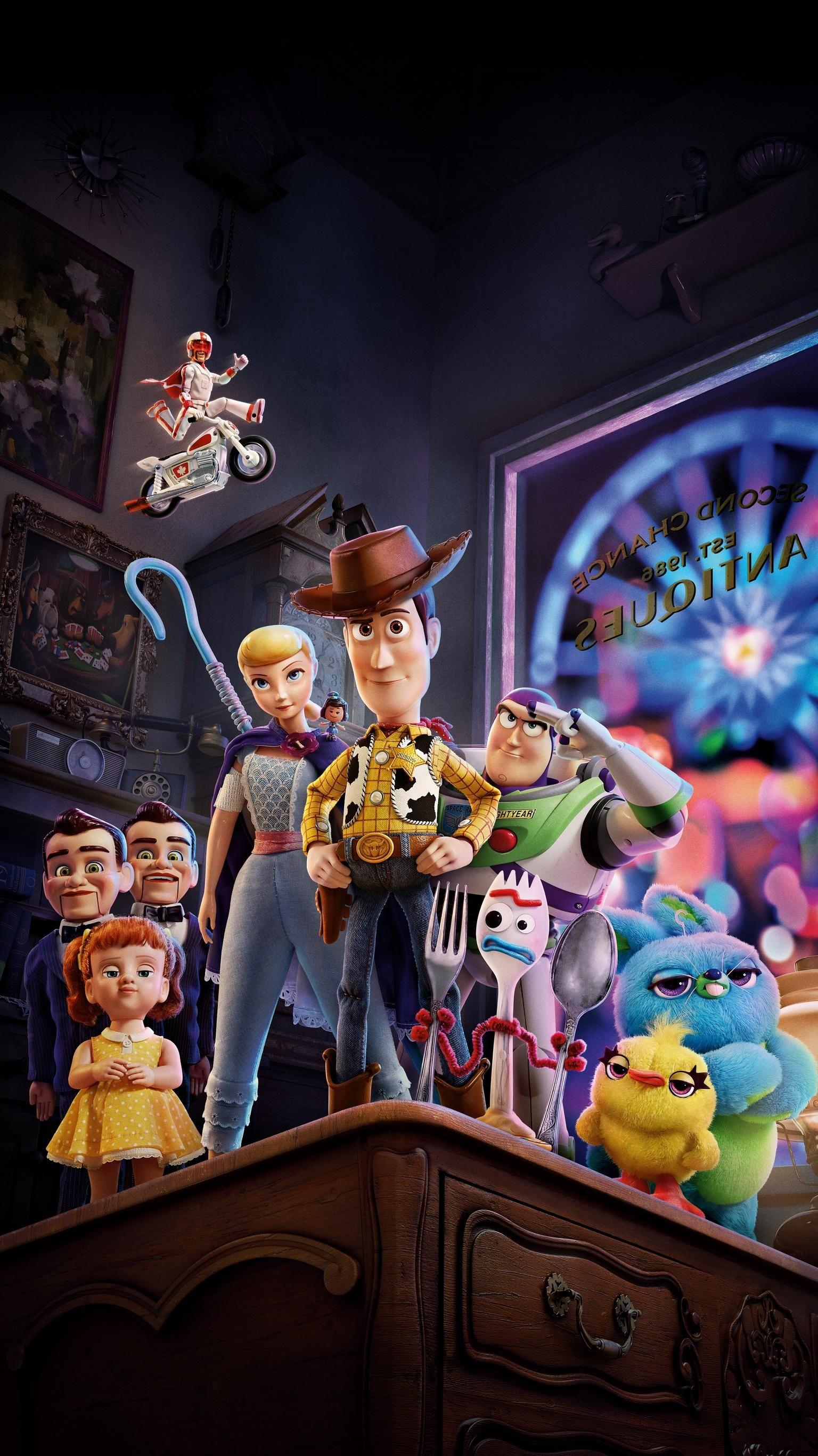 Toy Story 4 (2019) Phone Wallpaper | Moviemania | Disney ...