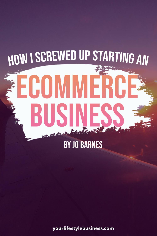 Photo of Wie ich es vermasselt habe, ein E-Commerce-Geschäft zu starten