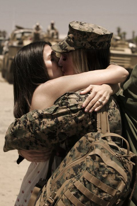 military lesbian