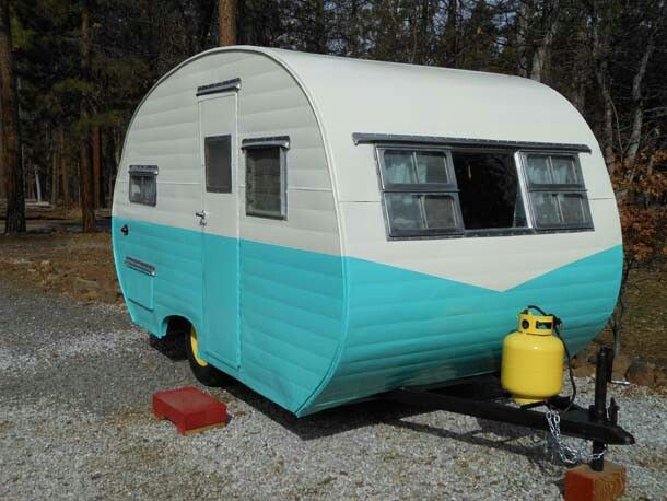 1956 Crown Travel Trailer 12 Feet Long Vintage Travel Trailers Vintage Travel Vintage Camper