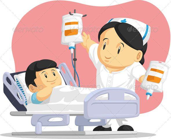 Nurse Helping Child Patient Nurse Cartoon Nurse Drawing Hospital Cartoon