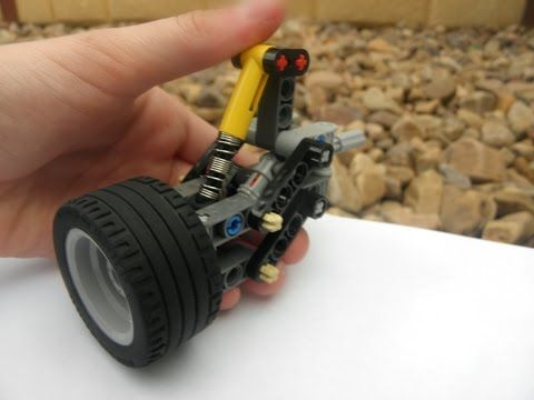 Lego Technic Independent Rear Suspension 13 Studs Wide Youtube