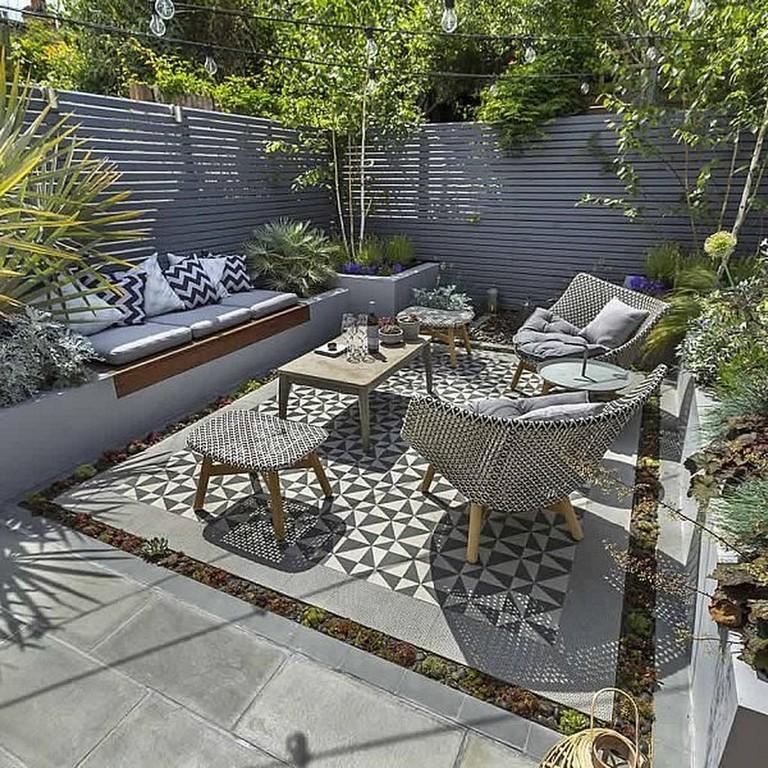 Photo of 11 komfortable kleine Terrasse auf Hinterhof Ideen