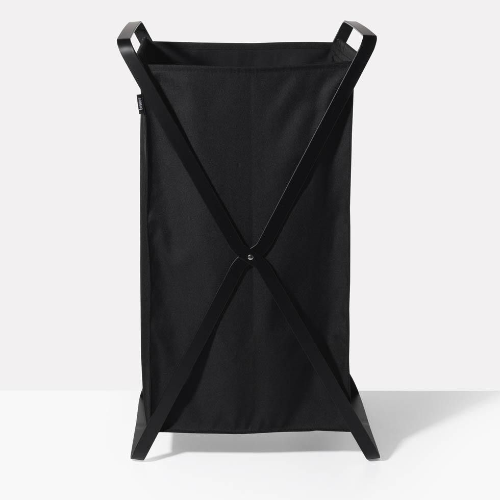 Tower Black Laundry Hamper With Images Black Laundry Basket Laundry Hamper Hamper
