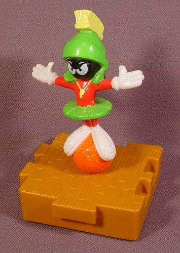 Mcdonalds 1996 Looney Tunes Space Jam Marvin The Martian Toy 4