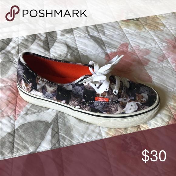 Cat vans   Vans, Womens shoes sneakers