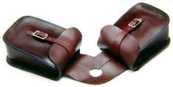 Tough-1 Leather Pommel Bag