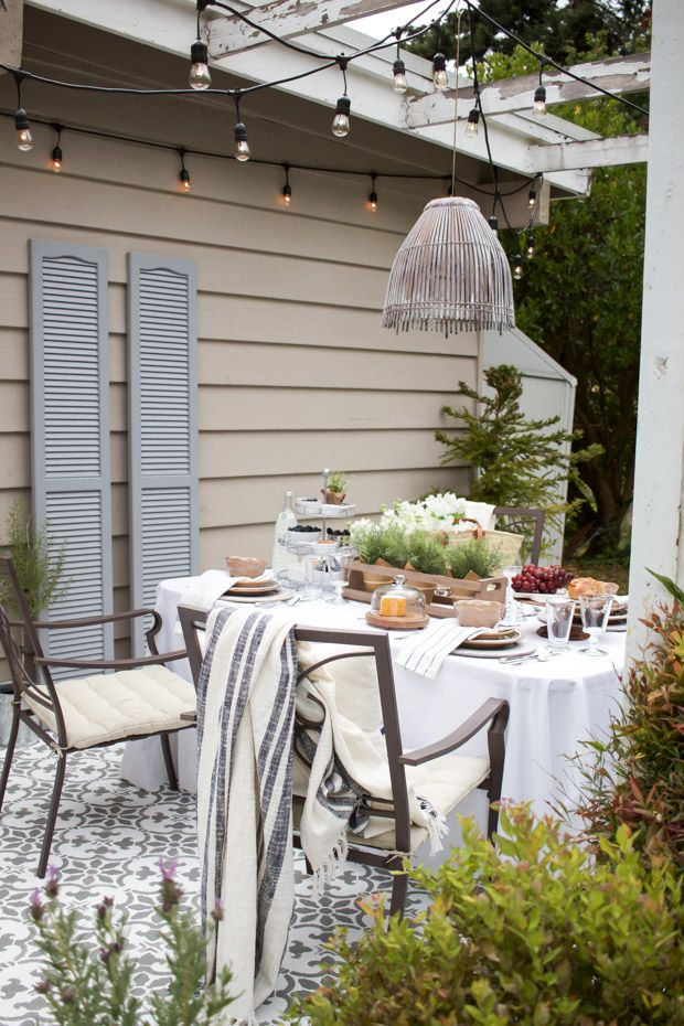 Outdoor Dining Inspiration | Patio makeover, Outdoor entertaining ...