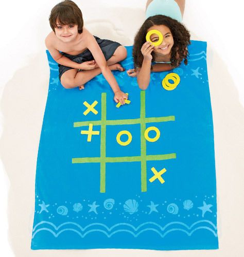 Kids Beach Towel Games