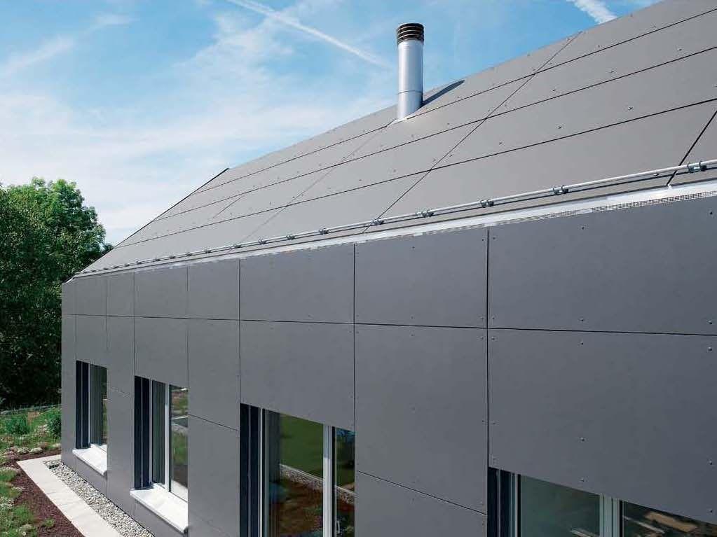 Faserzement Dachplatte Fibre Cement Cladding House