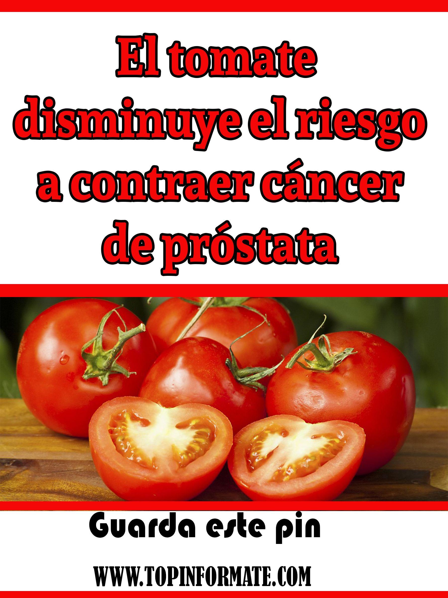 salud de tomates y próstatas