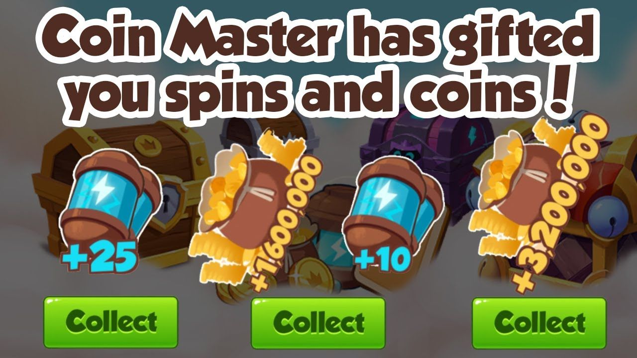 Coin master free spin and coin links for 26 oct 2019