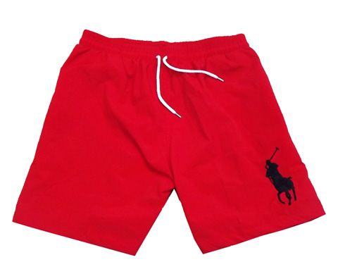 Ralph Lauren Polo Big Pony Sport Shorts Red