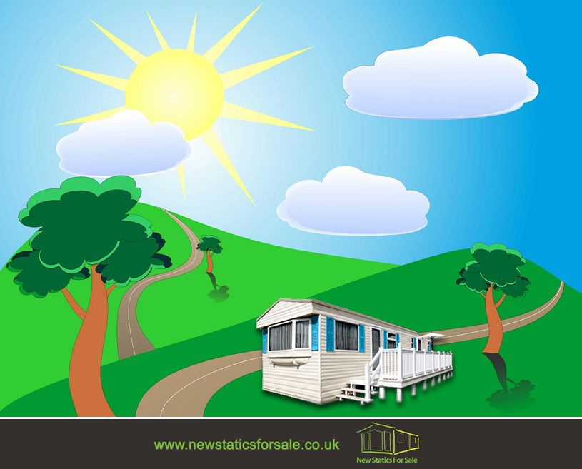 Perfect Summer = Sunshine + Holiday Home Time :) Visit: http://www.newstaticsforsale.co.uk/