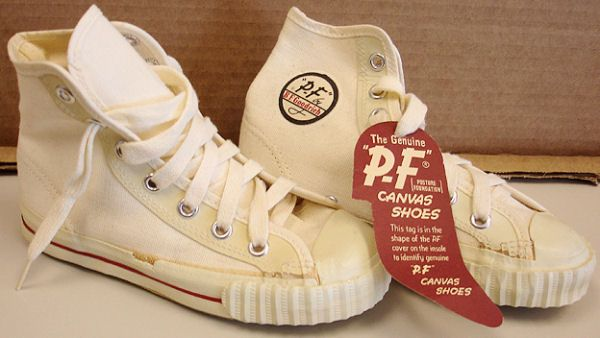 vintage red ball jets shoes