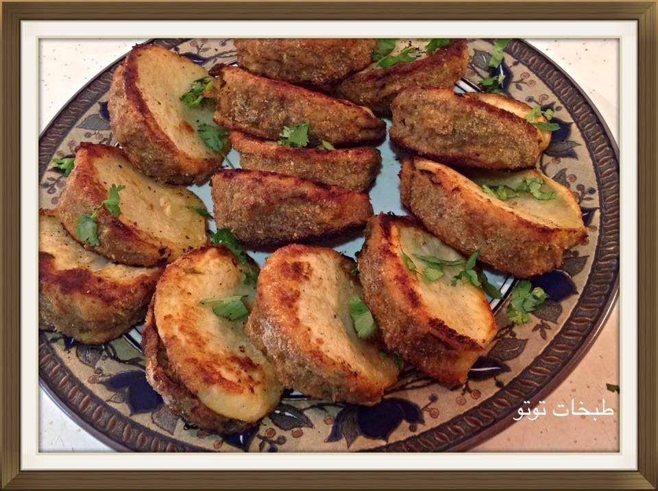 طبخات توتو بطاطا مبطنة Recipes Breakfast Food