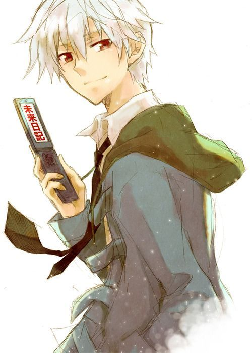White Haired Red Eyed Anime Guy Google Search