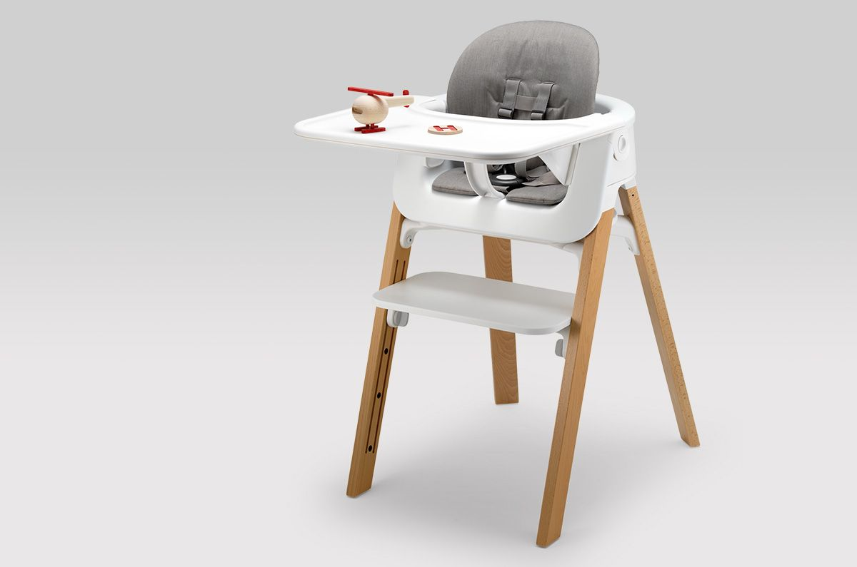 Stokke Steps La Chaise Pour Enfant Evolutive Baby Chair Toddler High Chair Baby High Chair