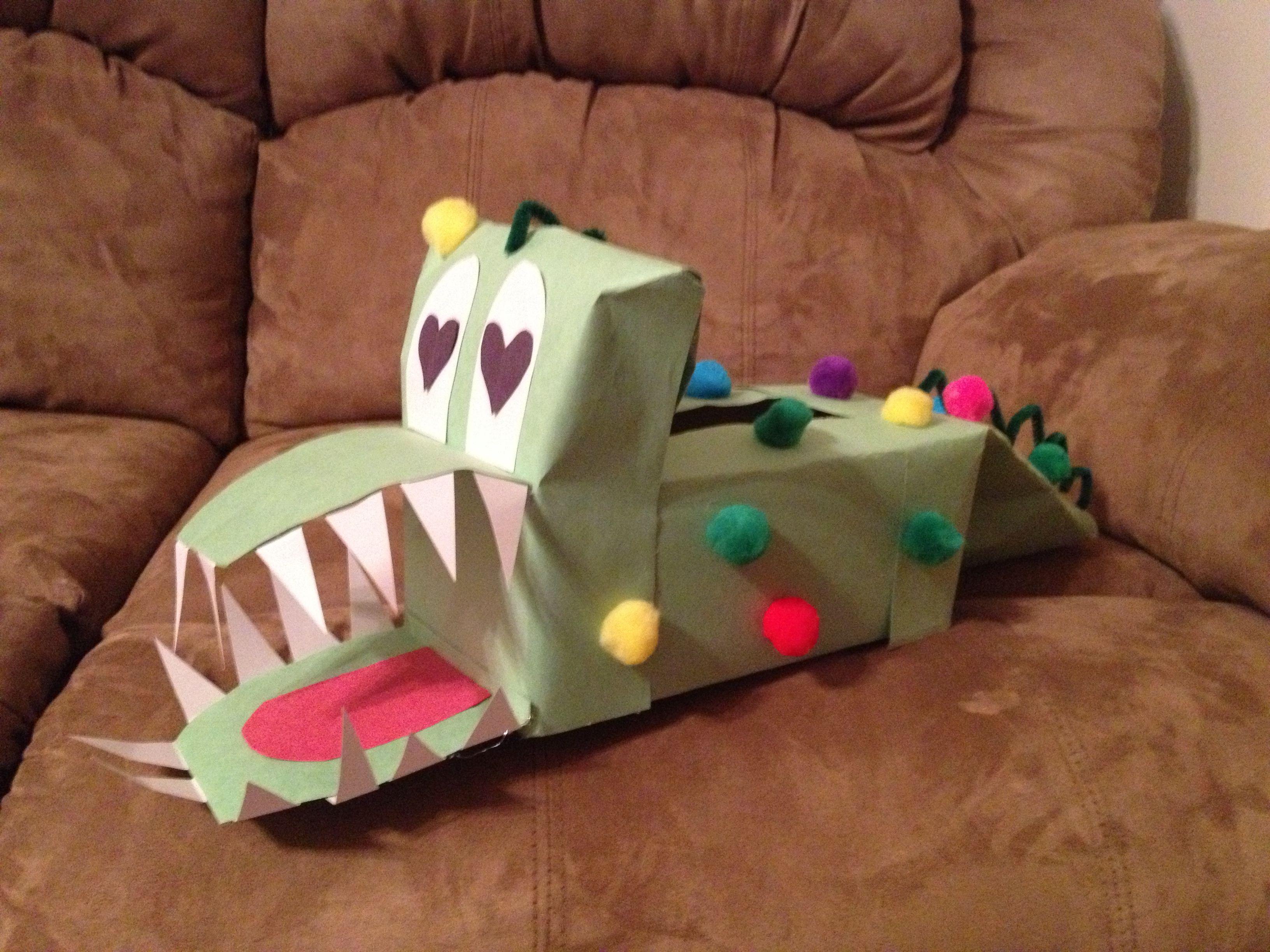 Charming Dinosaur Valentine Box Pictures Inspiration   Valentine .