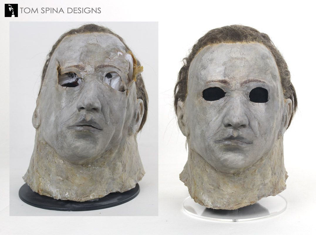 Michael Myers Mask Original Prop Restoration